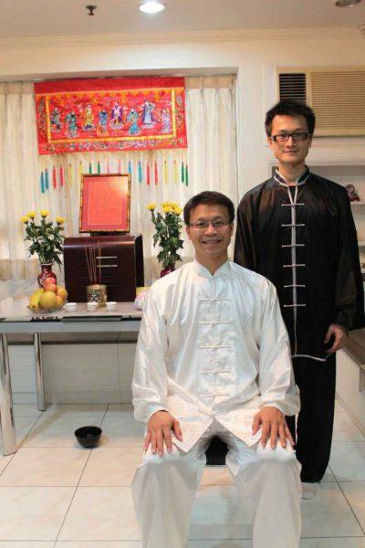 shifu david cheng and shifu yukai chang ph.d.