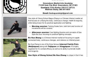 Gao Bagua seminar Yukai Chang 2018